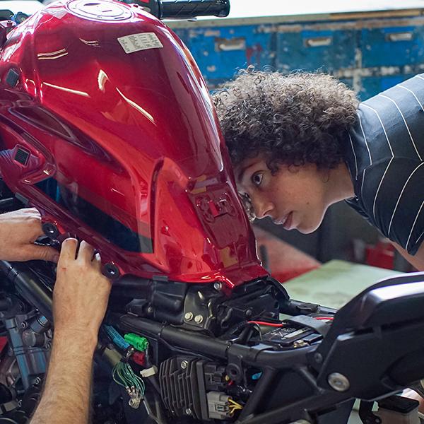 Motorfiets onderhoud (2 dagen)