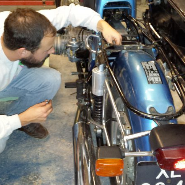 Introduction Motorcycle Maintenance